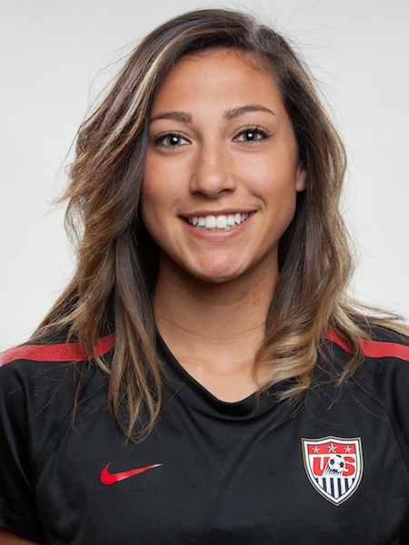 ¿Cuánto mide Christen Press? - Real height Christen-press